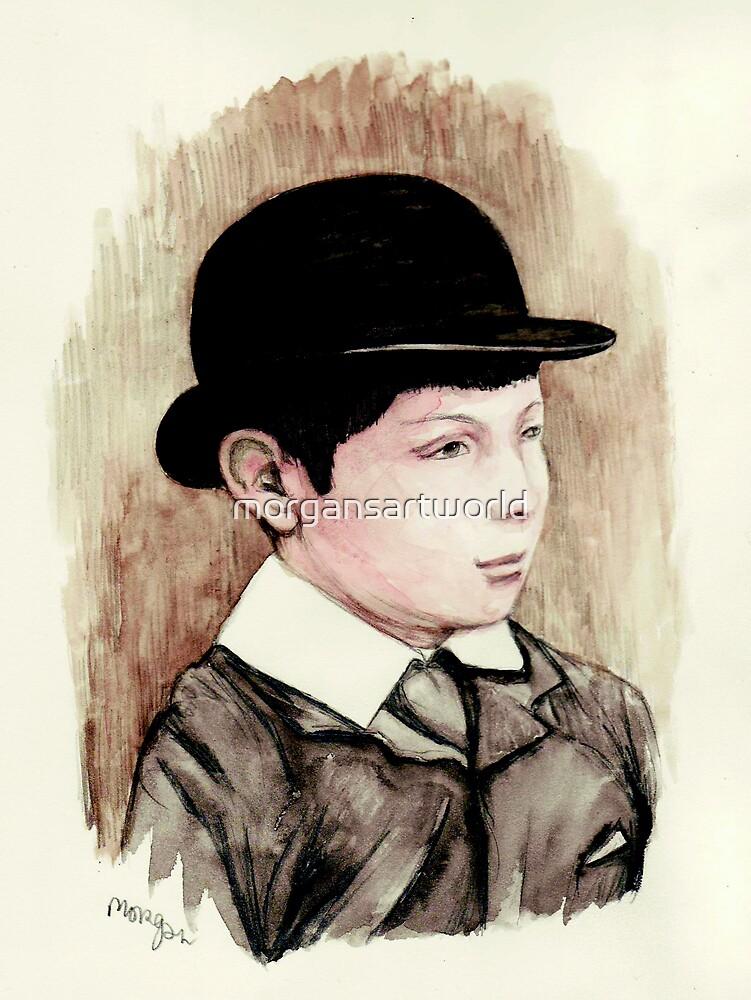 Churchill the schoolboy by morgansartworld