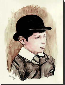 Churchill the schoolboy by morgansartworld