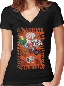 The Cornetto Trilogy Women's Fitted V-Neck T-Shirt