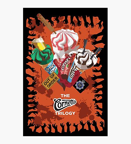The Cornetto Trilogy Photographic Print