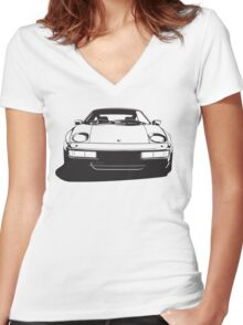 Icons Version 5.0 Women's Fitted V-Neck T-Shirt