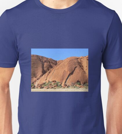 Uluru # 2 , N.T. Central Australia  Just a small section,  Unisex T-Shirt