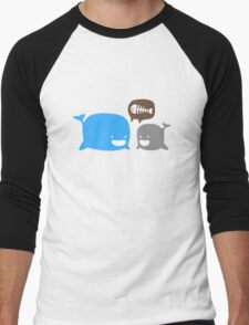 WHALES Men's Baseball ¾ T-Shirt