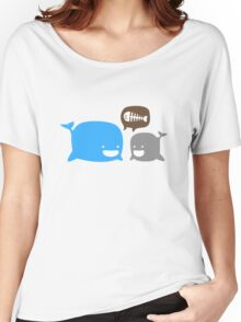 WHALES Women's Relaxed Fit T-Shirt