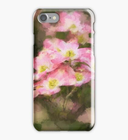 Spring Pink Dogwood iPhone Case/Skin