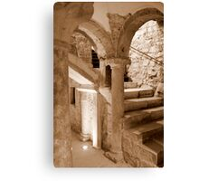 Scale of the crypt Canvas Print