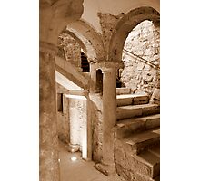 Scale of the crypt Photographic Print