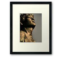 Terry Fox Monument Framed Print