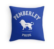 Pemberley Pride - Team Darcy - Pride and Prejudice Throw Pillow