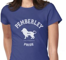 Pemberley Pride - Team Darcy - Pride and Prejudice Womens Fitted T-Shirt