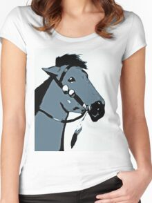 Indian Pony Women's Fitted Scoop T-Shirt