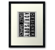 Graphic Designer Framed Print