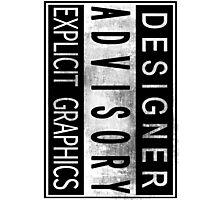 Graphic Designer Photographic Print