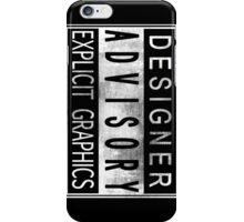 Graphic Designer iPhone Case/Skin