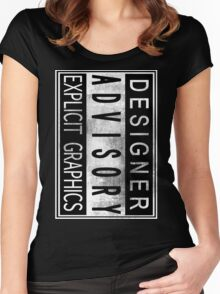 Graphic Designer Women's Fitted Scoop T-Shirt