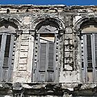 Windows with Shutters by Ethna Gillespie