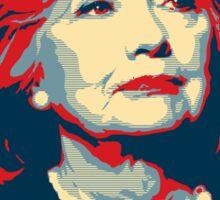 "Hillary Clinton ""NOPE"" Election Shirt Sticker"