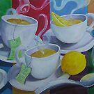 Tea Time by nancy salamouny