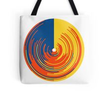 Circle data doughnut Tote Bag