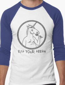 EAT YOUR TEETH Men's Baseball ¾ T-Shirt