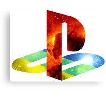 Playstation Galaxy Canvas Print
