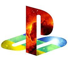 Playstation Galaxy Photographic Print