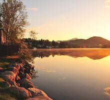 Lake Placid Sunrise by TimBehuniak