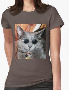 Yoko Kitteh Womens Fitted T-Shirt