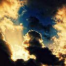 Burning Sky by ghastly