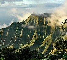 Napali Clearing Storm, Kauai by Stephen Vecchiotti