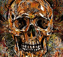 Skull Artwork by rockchromatic