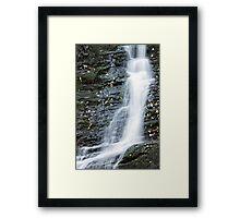 Waterfall cascade Framed Print