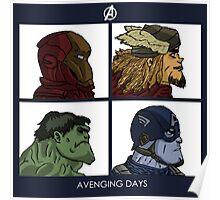 Avenging Days Poster