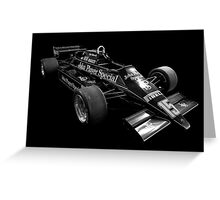 F1 Legend (Lotus) Greeting Card