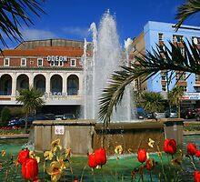 Pavilion Fountain by RedHillDigital