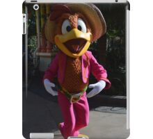Disney Panchito Disney Vintage Character 3 Caballeros Donald Duck iPad Case/Skin