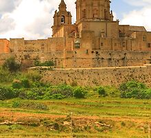Cathedral at Mdina, Malta by Rosalie M