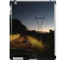 Night Driving on Stringer Track iPad Case/Skin