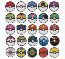 POKEBALLS by ZC Design Studios