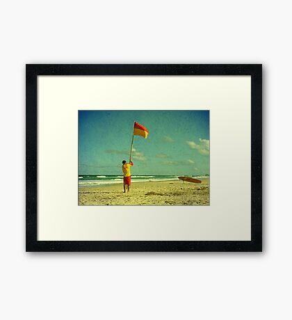 Declaration of Summer Framed Print