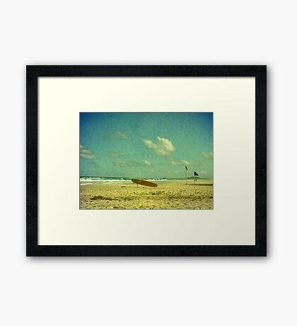 Surf Rescue Framed Print