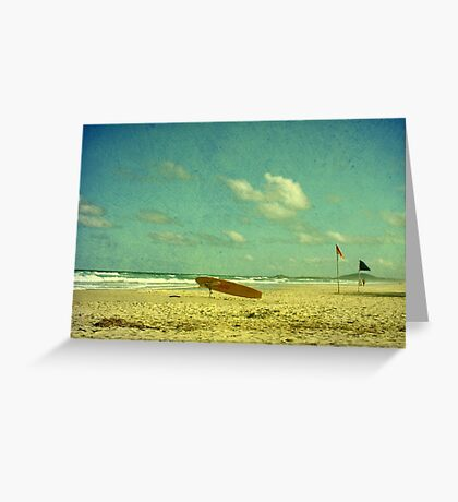 Surf Rescue Greeting Card