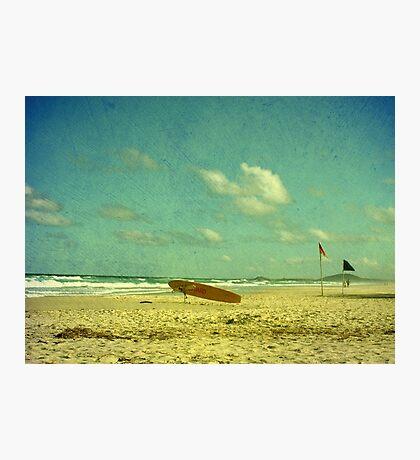Surf Rescue Photographic Print