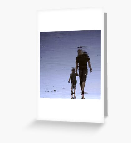 Together, we can take on the world..... Greeting Card