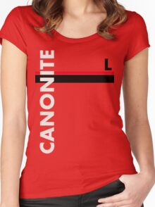 Canonite Women's Fitted Scoop T-Shirt