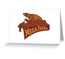 Mega Fauna Greeting Card