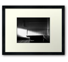 The Waiting Room Framed Print