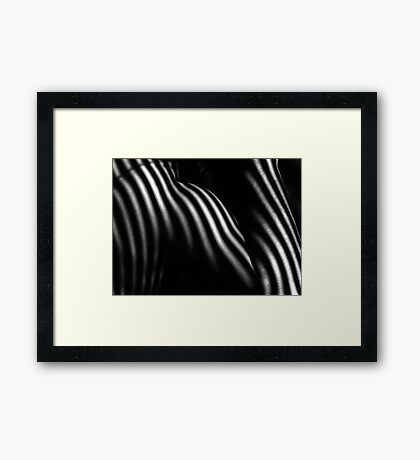 Shoulder & Shadows Framed Print