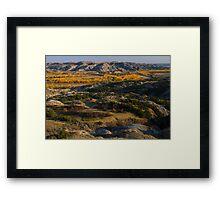 North Dakota Landscape Framed Print