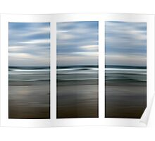 Rainbow Beach at Dusk Poster